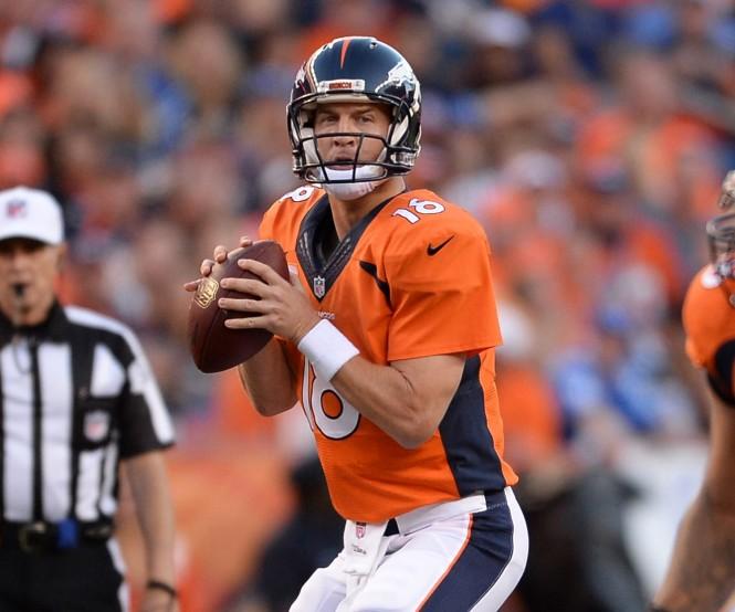 Peyton Manning, Quarterback do Denver Broncos. Os Broncos derrotaram o New England Patriots de Tom Brady no último domingo na disputa pela final da conferência e seguem para a disputa do Super Bowl 50 contra o Carolina Panthers. Mesmo aos 39 anos, Manning ainda é um dos melhores quarterbacks da liga e vem fazendo uma de suas melhores temporadas na carreira.